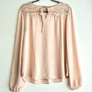 Forever21 light pink blouse